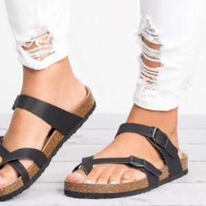 Birkenstock miyari toe loop sandals